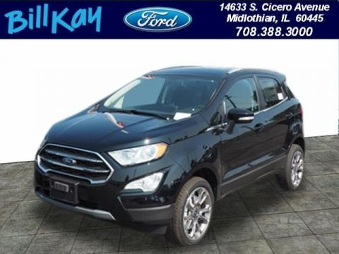 New 2019 Ford EcoSport Titanium with Navigation & 4WD
