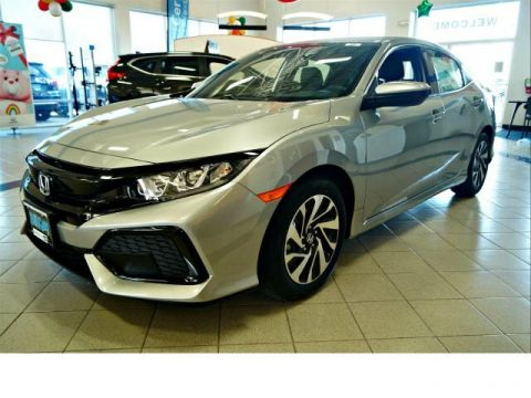 New 2019 Honda Civic LX FWD Hatchback