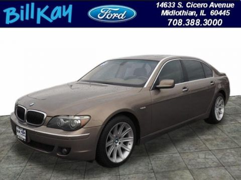 Pre-Owned 2007 BMW 750Li Li RWD Sedan