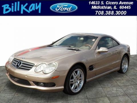 Pre-Owned 2003 Mercedes-Benz SL500 RWD Coupe